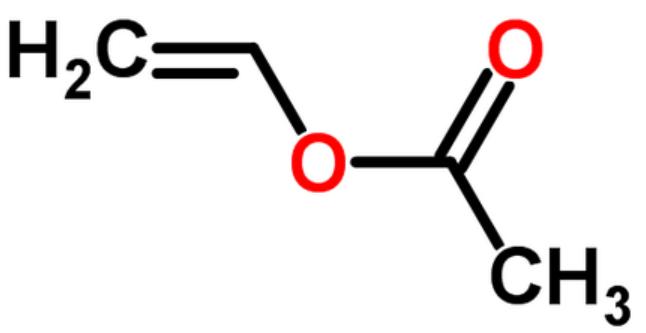 Polymerization reaction between ethylene and vinyl acetate ...  Vinyl Acetate Polymer